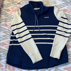 Vineyard vines women's cowl neck sweatshirt